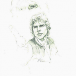 Star Wars Han Solo - original production concept art