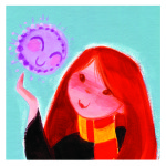 Potter Pet Series: Ginny & Arnold (the Pygmy Puff)