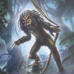 Predator in the Jungle - Official art of the video game - Finish