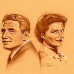 Tracy & Hepburn - original production concept art