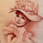 Audrey Hepburn - My Fair Lady - John Alvin original art