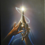 Aladdin Magic Lamp - original production color concept art