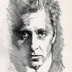 The Godfather Michael Corleone - original production concept art