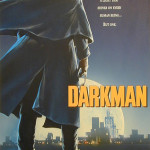 Darkman Movie Poster - original production concept color art