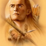 Elven Archer - Lord of the Rings by John Alvin