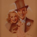Romantic Partnership series, Top Hat - Fred Astaire and Ginger Rogers