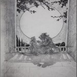 Beauty and the Beast- Moonlight Graphite Composition