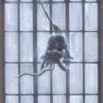 Hunchback of Notre Dame- Quasimodo and Esmerelda Swinging by John Alvin