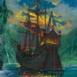Neverland Bay - Giclée on Canvas