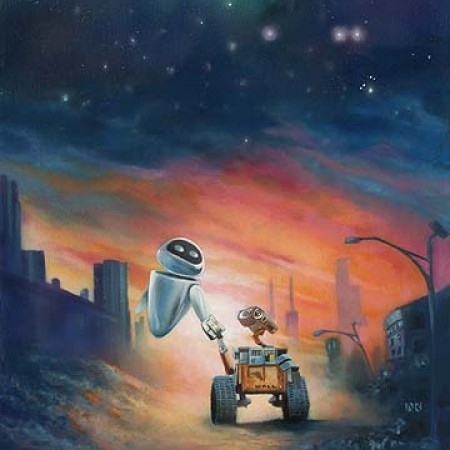 Wall-E The Depth of Space and Love John Rowe Limited Edition