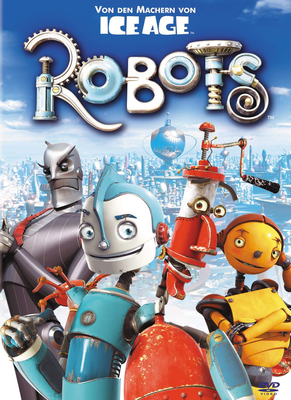 Robots Original and Limited Edition Art (2005
