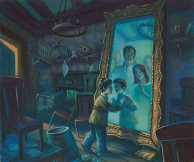 Harry Potter Mirror Of Erised Giclee On Paper By Mary Grandpre