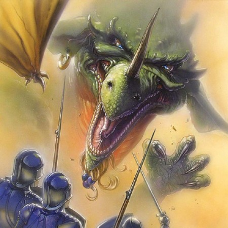 dragon princess dragon and knights original concept art by john alvin