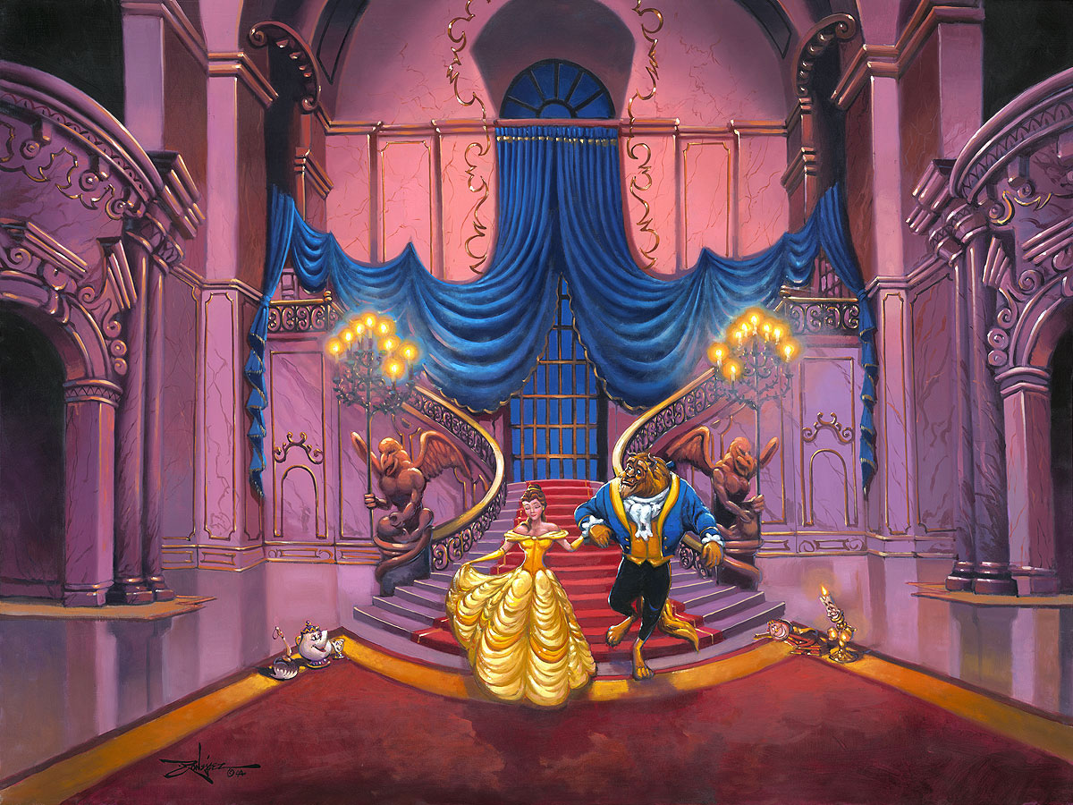 Tale As Old As Time Beauty And The Beast Treasures On