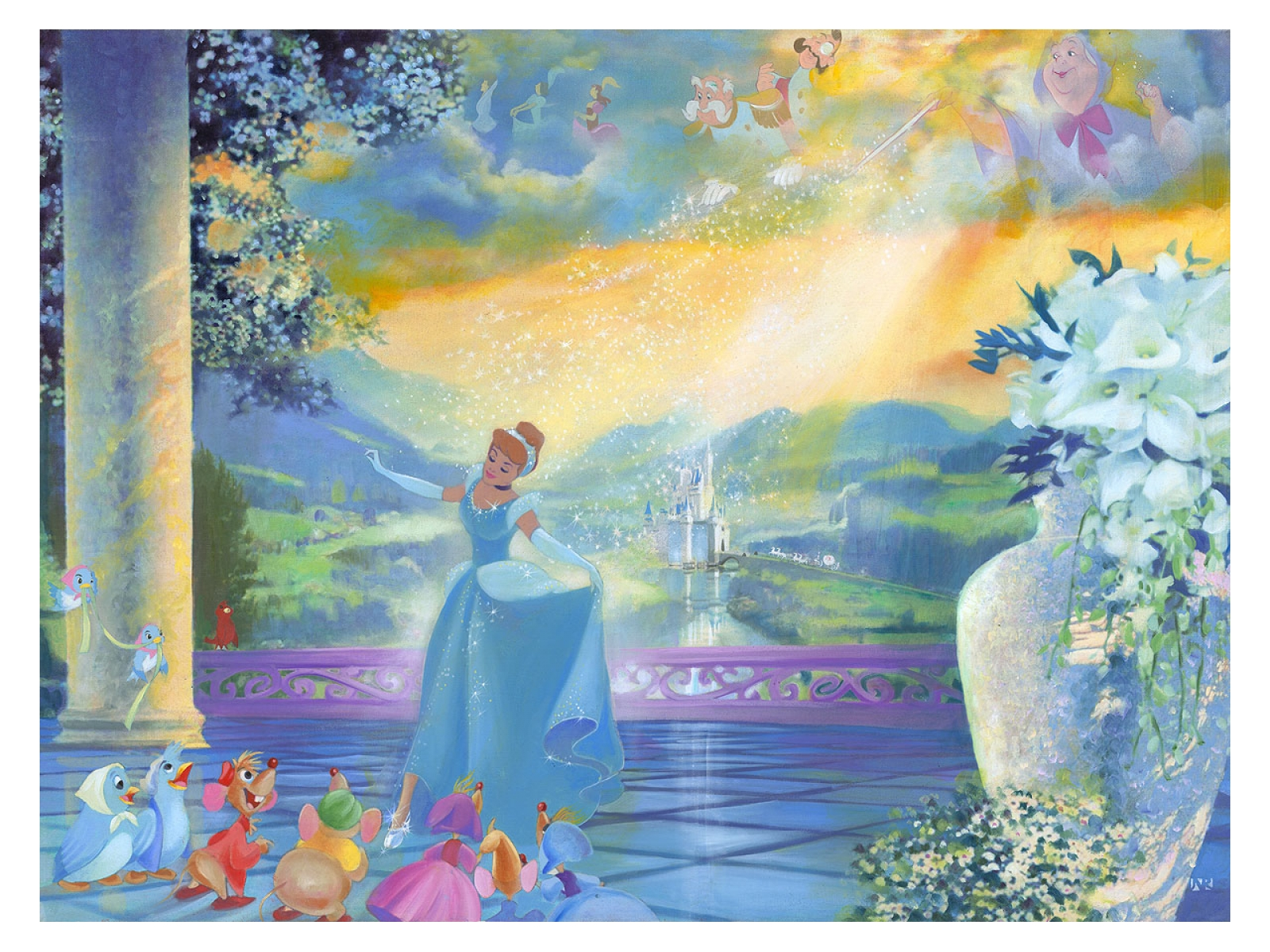 The Life She Dreams Of by John Rowe Treasures on Canvas gift idea for $125