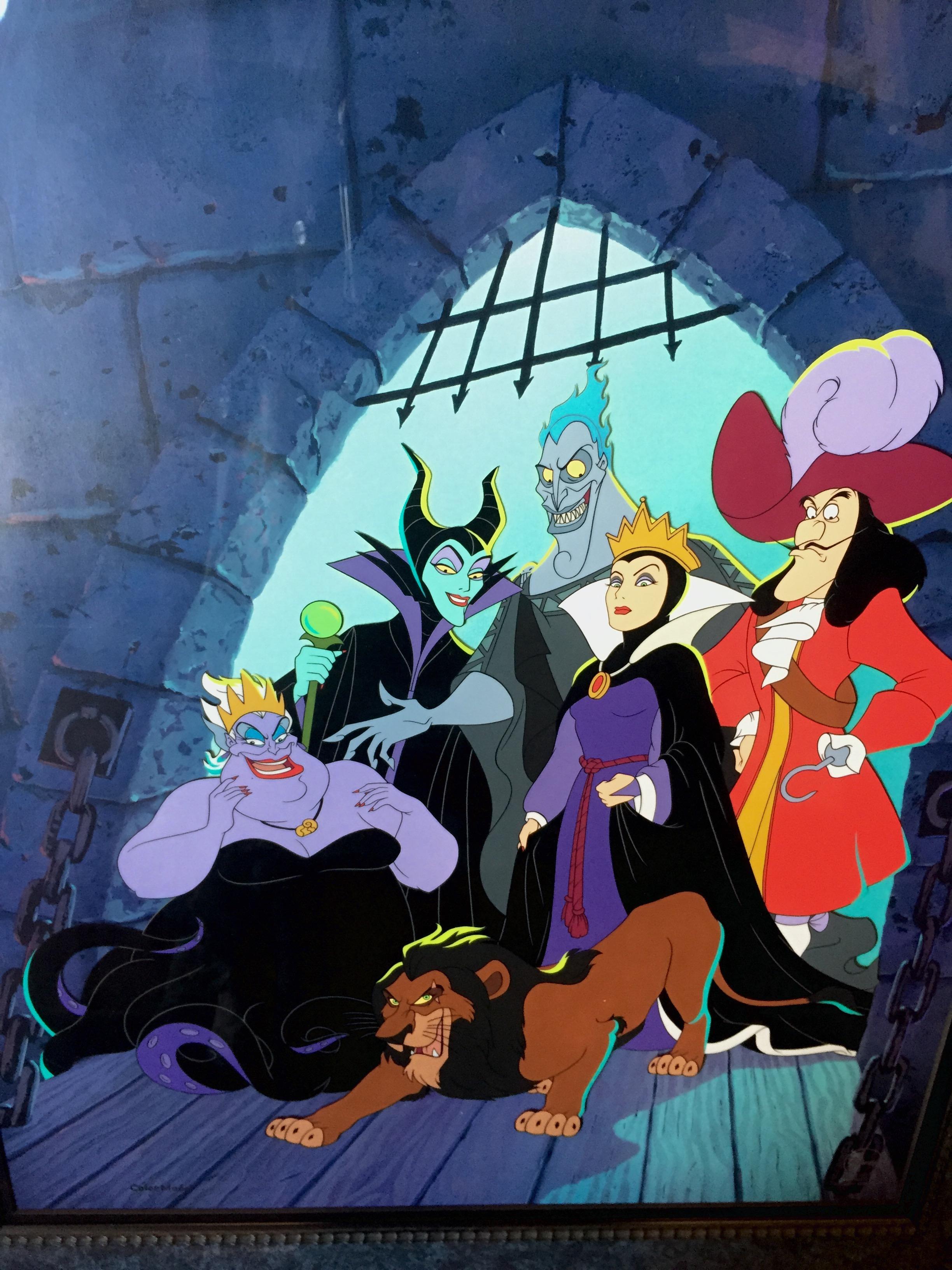 Walt Disney Studios Original And Limited Edition Art