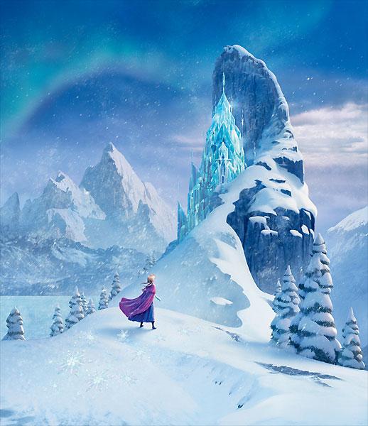Frozen Concept Art Environment