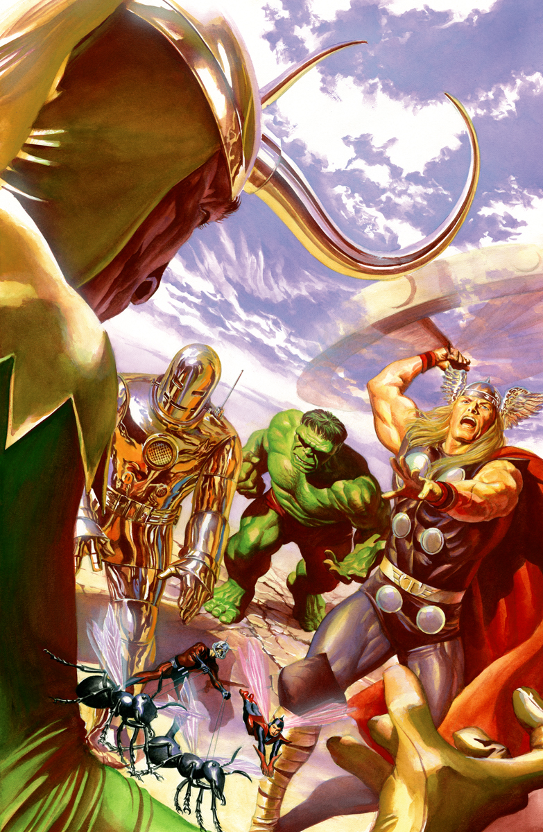 Avengers 1 Variant Cover