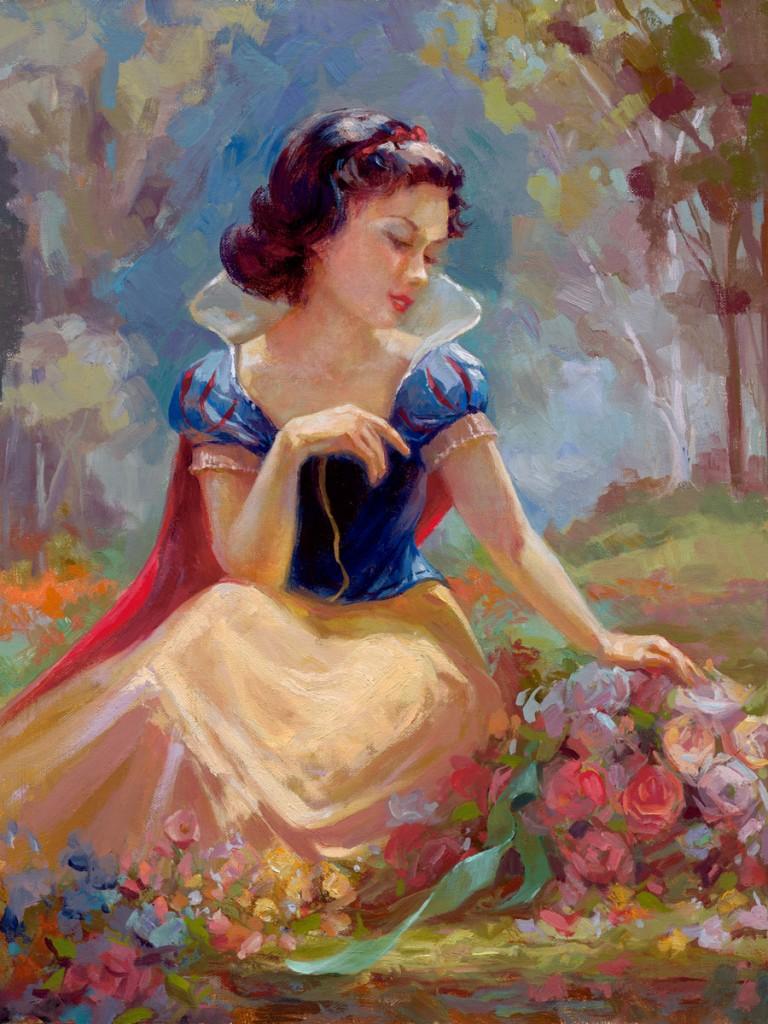 Gathering Flowers by Lisa Keene
