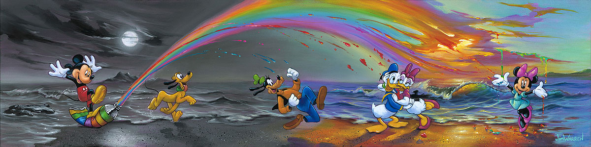 Mickey Makes Our Day by Jim Warren