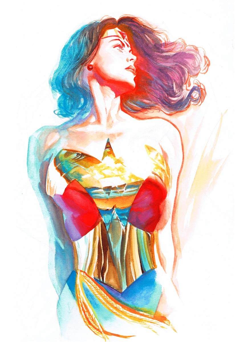 Wonder Woman: Goddess of Truth Giclee on Paper by Alex Ross