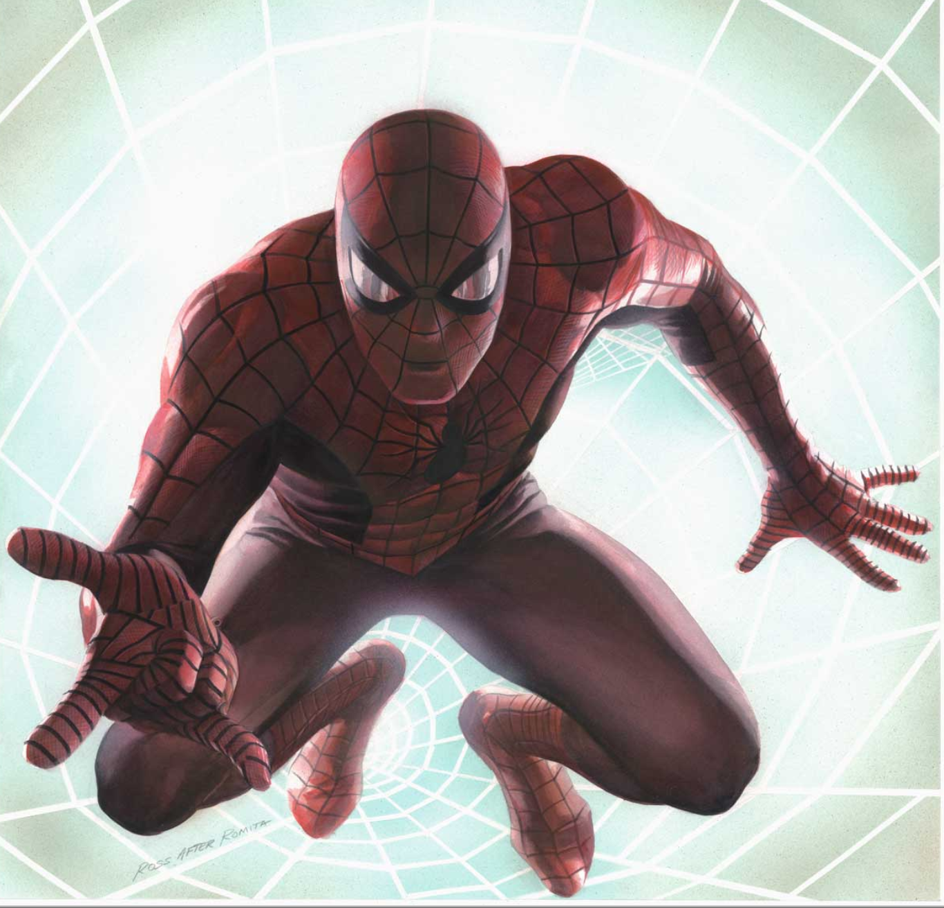 Spider-Man: Rockomic by Alex Ross Signed Limited Edition Lithograph