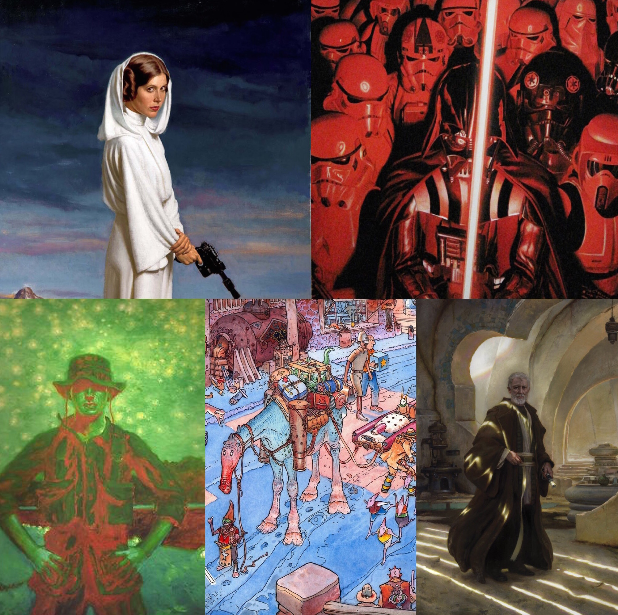Spotlight on Studio Art: Star Wars Visions Deluxe book and ...