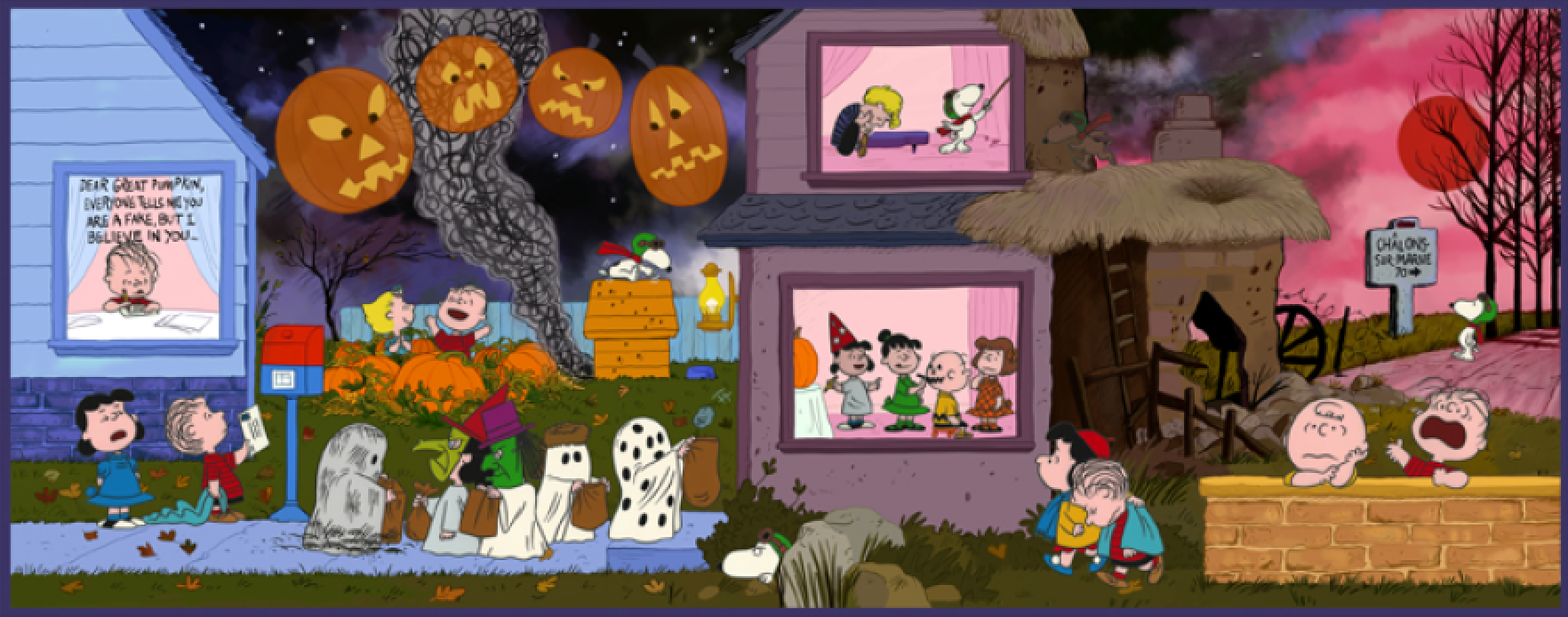 a night to believe its the great pumpkin charlie brown