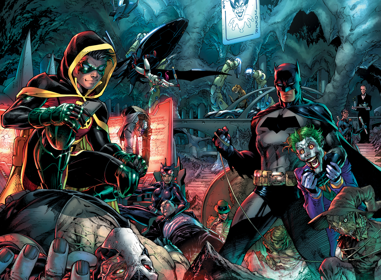 Detective Comics 1000 fine art limited edition giclee on paper by Jim Lee